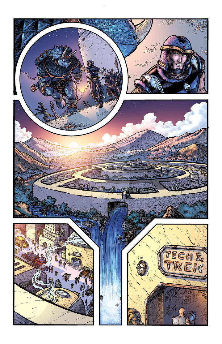 Defenders of Eden #1 pg10 by oICEMANo