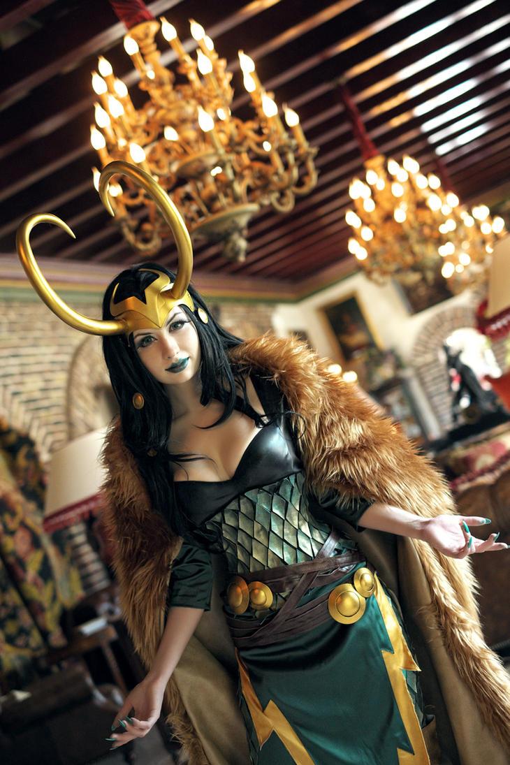 Lady Loki by souji-yarou