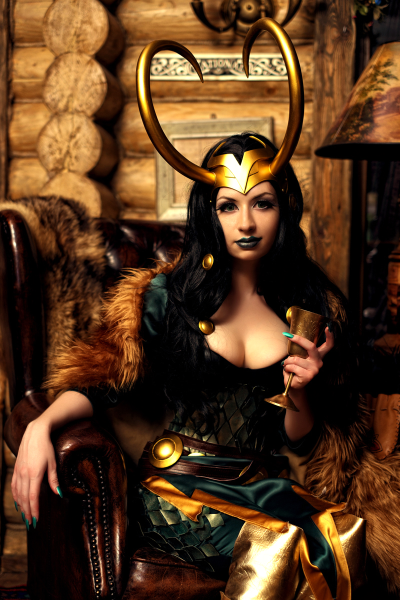 Lady Loki by souji-yarou