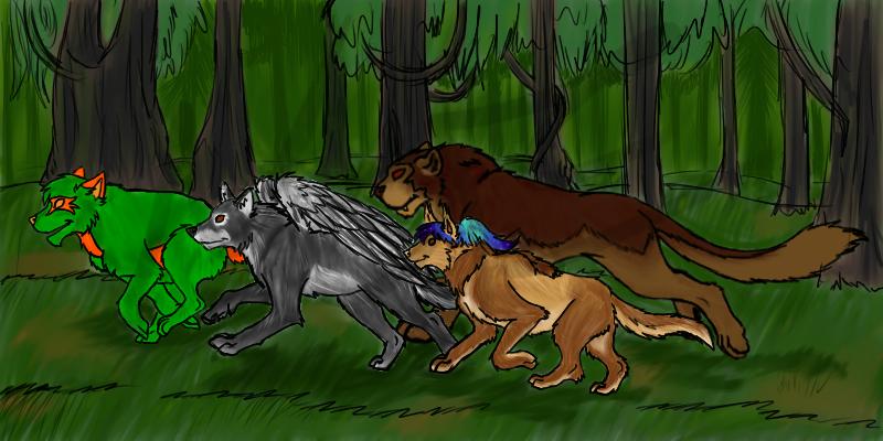 Wolf Run by NaniV