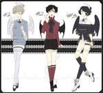 [OPEN 1/3]-Angel/Demon Adoptables- by KawasuYokune