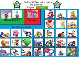Nintendo All stars by Dreamworks78