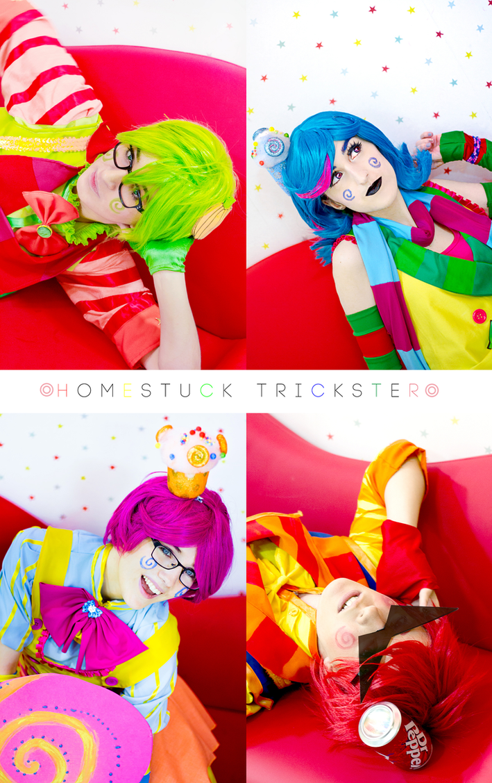 Everyone loves candy - Trickster Homestuck by CallOfFateAndDestiny