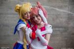 Family - Chibiusa and Sailor Moon Cosplay
