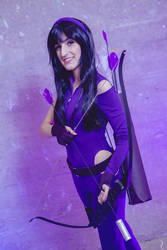 Pretty much an Avenger - Kate Bishop (Hawkeye)