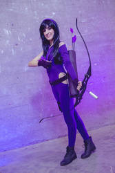 Super hero - Kate Bishop Hawkeye Cosplay by CallOfFateAndDestiny