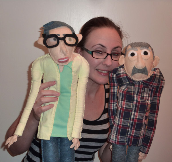 Shut Up Little Man Talking Dolls by lookwhatemilymade on