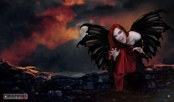 One dark night by wolfworx