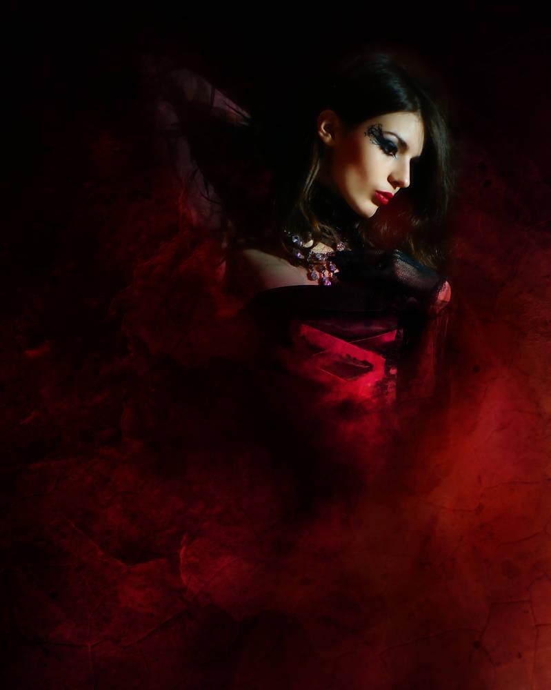 Red Nights, Dark delights by wolfworx