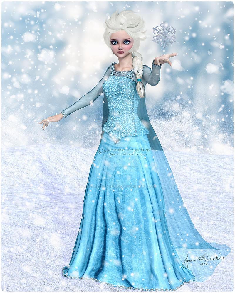 Elsa by DigiCuriosityDesigns