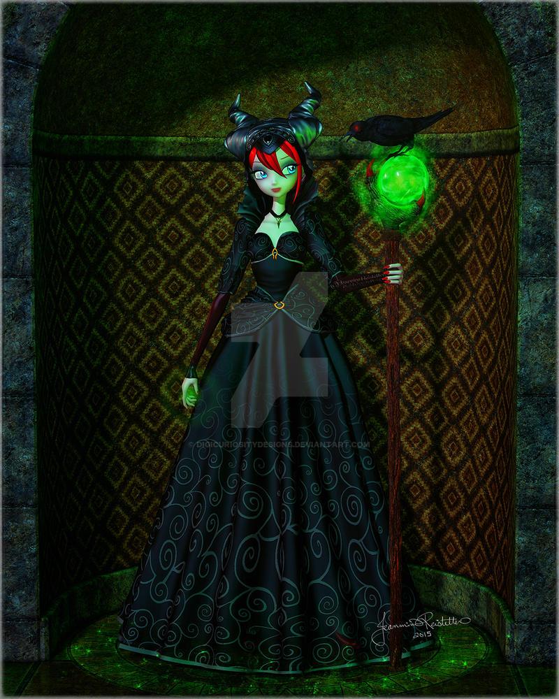 Maleficent by DigiCuriosityDesigns