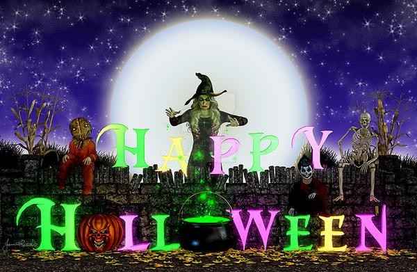 Happy Halloween by DigiCuriosityDesigns