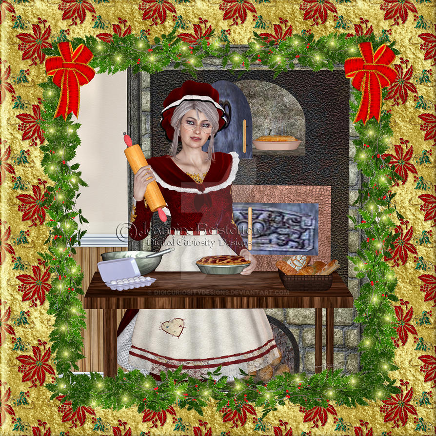 Mrs Claus Bakery by DigiCuriosityDesigns