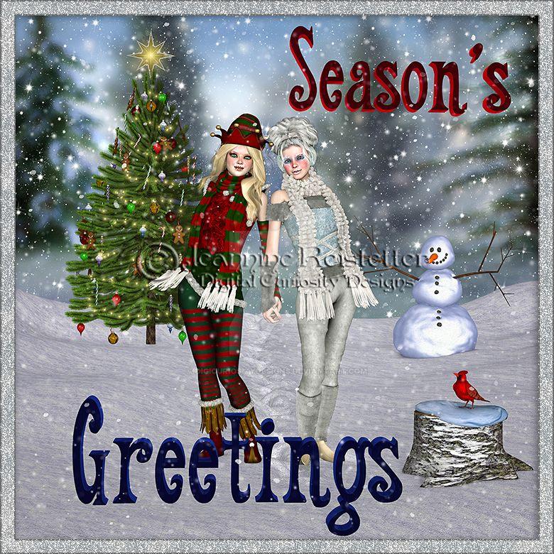 Season's Greetings by DigiCuriosityDesigns