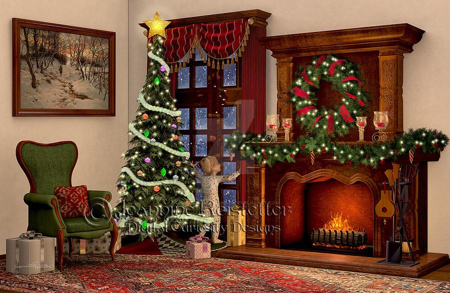 Waiting for Santa by DigiCuriosityDesigns