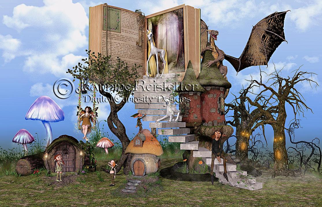 Bringing Stories to life 2 by DigiCuriosityDesigns