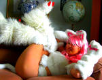 Felicia Pink Kitty Darkstalker