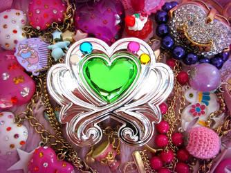 Pretty Cure Magical Heart Brooch by TheShiningPolaris