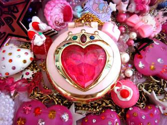 Sailor Moon ChibiMoon Neo Prism Heart Brooch by TheShiningPolaris