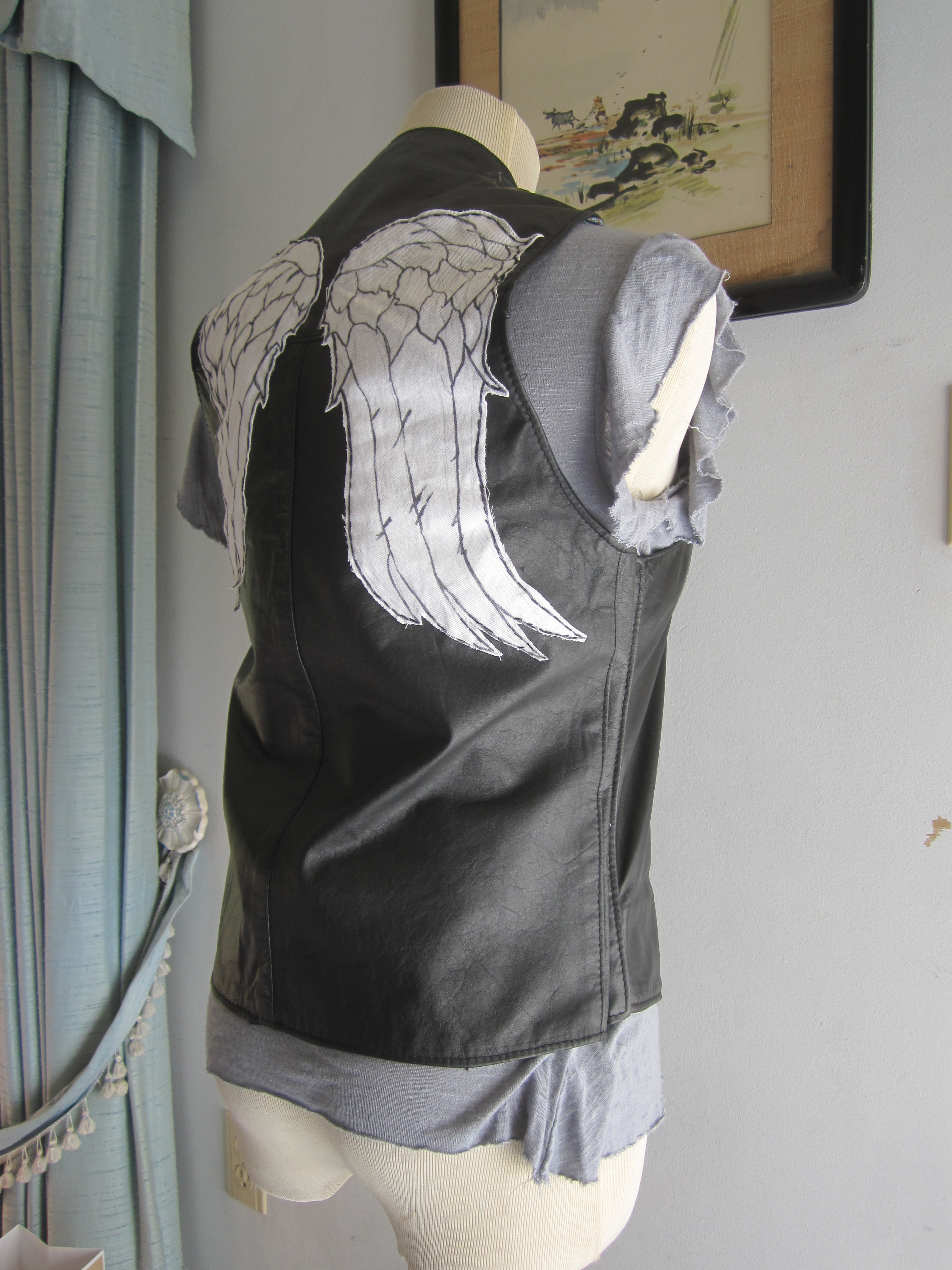 The Walking Dead Daryl's Angel Wing Vest by TheShiningPolaris