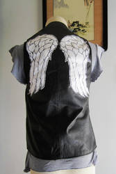 The Walking Dead Daryl's Leather Vest for Cosplay by TheShiningPolaris