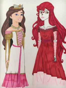 Celeste and Tallylu