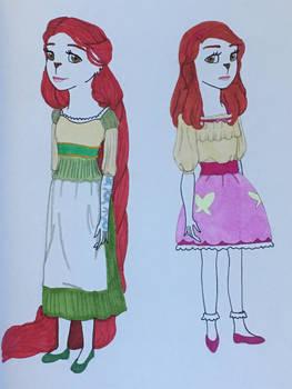 Tallylu as Rapunzel