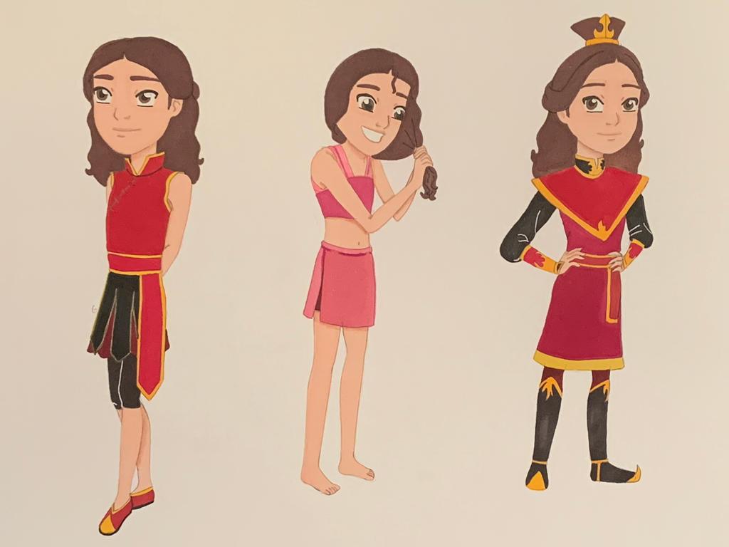 Lotus's Season 3 outfits