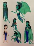 Sari Sketches
