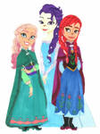 Frozen Who Sisters