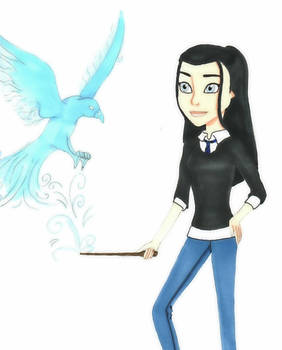 Danielle in Ravenclaw