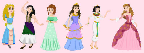 Ideas Stories  for Time Princess