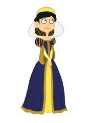 Elizabeth as Snow White