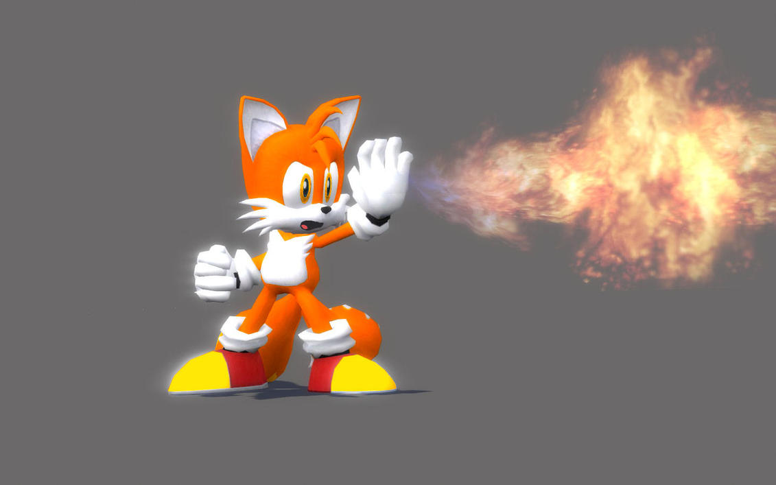 Fire Tails - GMod by Spartist95