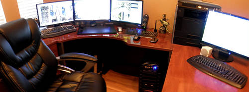 My work area at Home