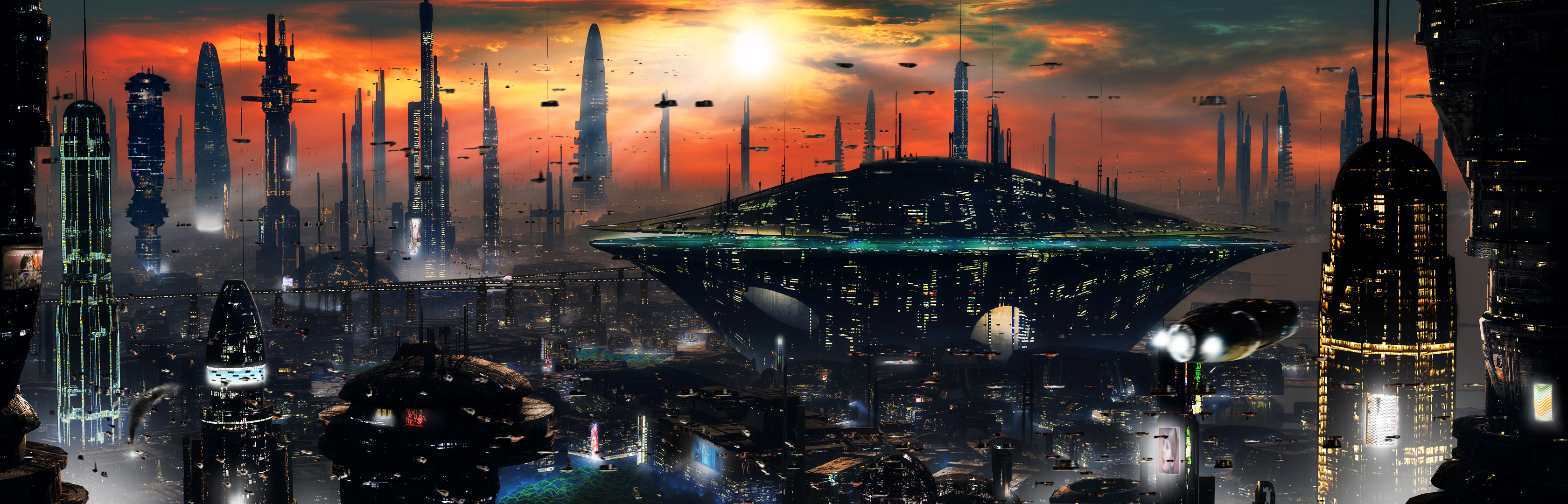 Futuristic City 2 by rich35211