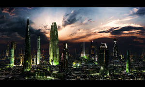 Futuristic City 3 test by rich35211