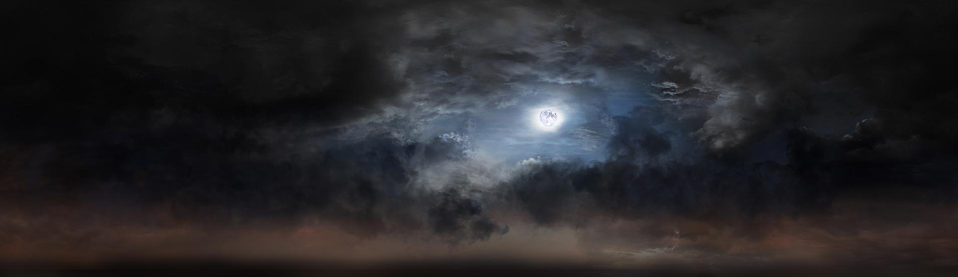 Moon Light Sky Matte by rich35211 on DeviantArt
