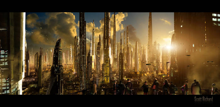 Matte Future City 121611