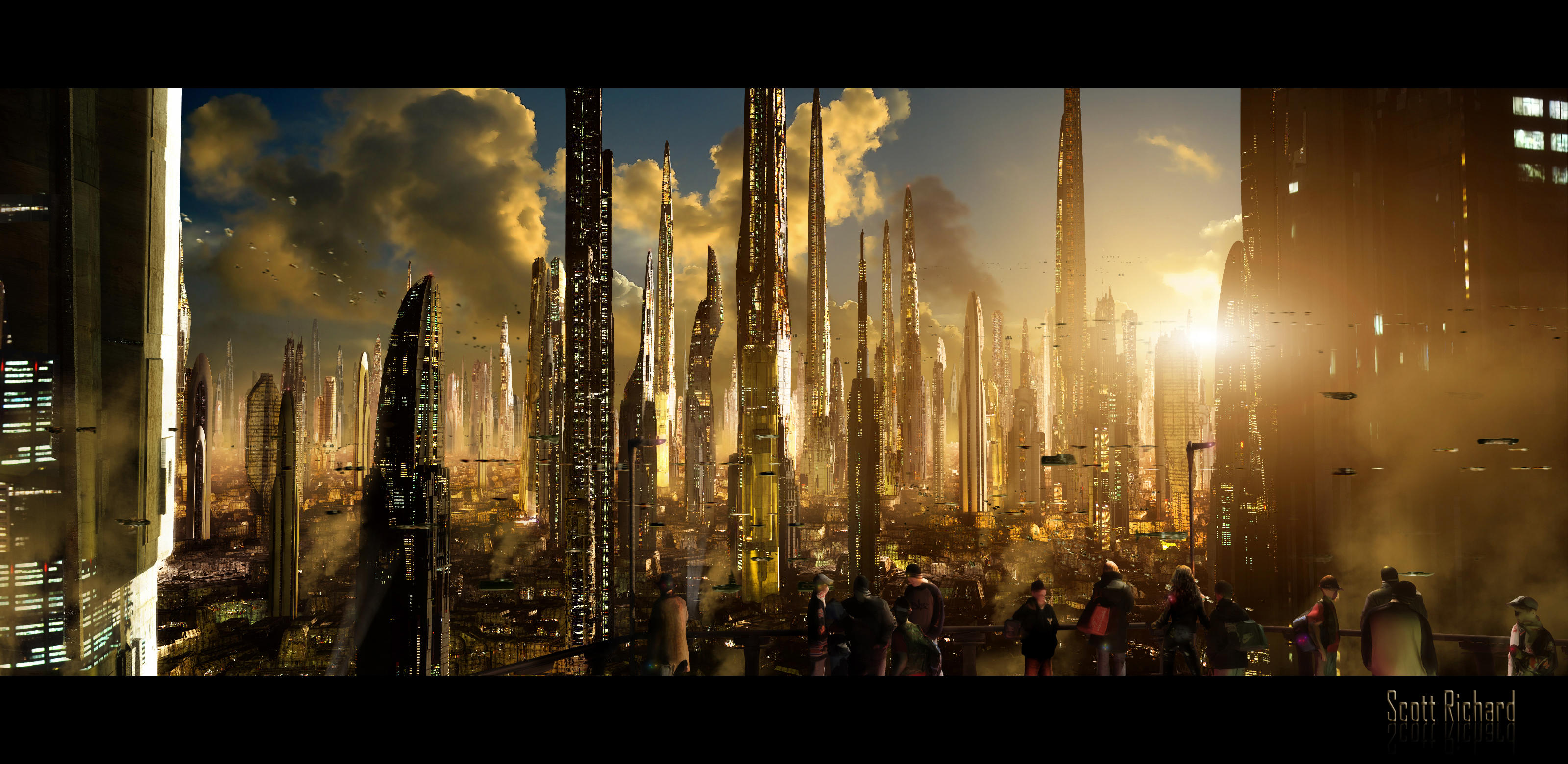 art futuristic cities - photo #48