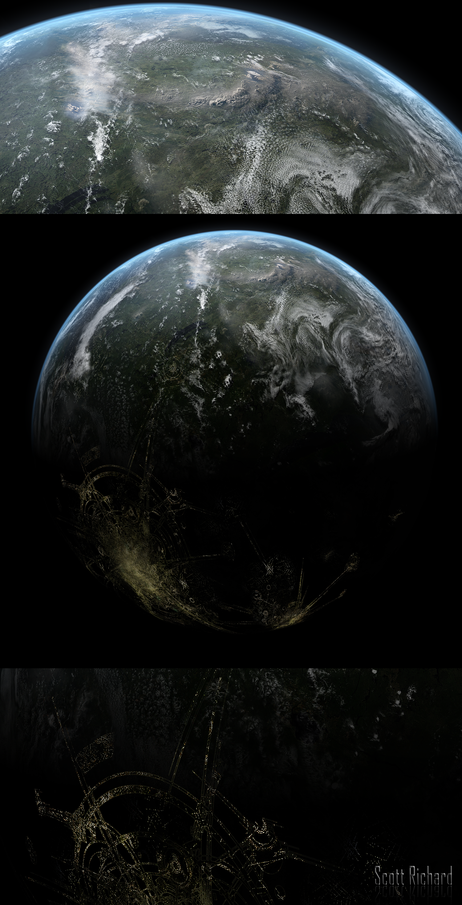 Planet 021812 by rich35211 on deviantart for Space matte painting