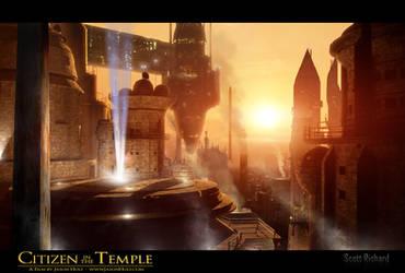 Citizen in the Temple Matte 23-4