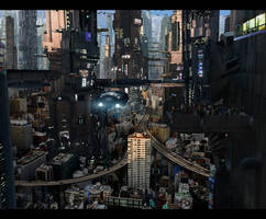 Futuristic City 5 Full by rich35211