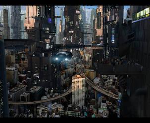 Futuristic City 5 Full by rich35211