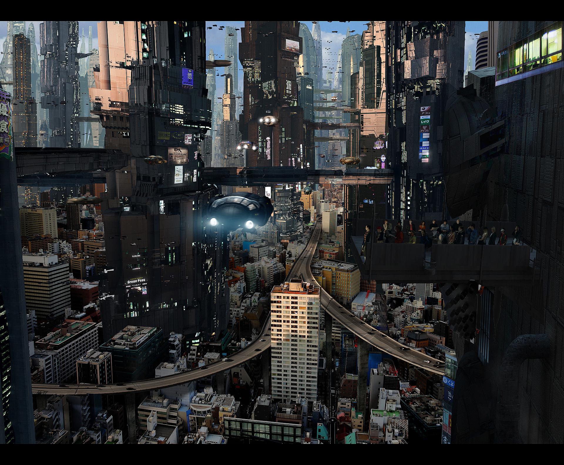 Futuristic City 5 Full