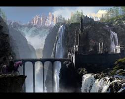 TLG Waterfall Castle 1920 desktop by rich35211