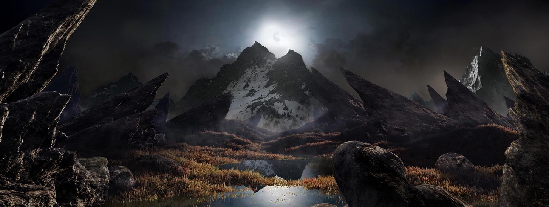 evil landscape background - photo #19