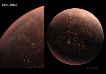 Star Wars 2015 Coruscant Personal Matte by rich35211