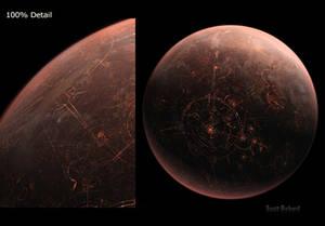 Star Wars 2015 Coruscant Personal Matte