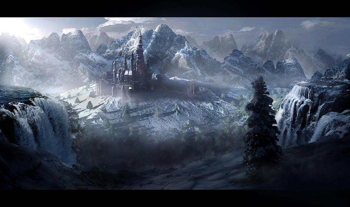 Castle Snow Valley By Rich35211 On Deviantart